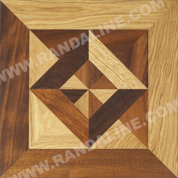 randaline quadrotta geometrica casale 1 - Pavimenti in legno intarsiato Randa Line