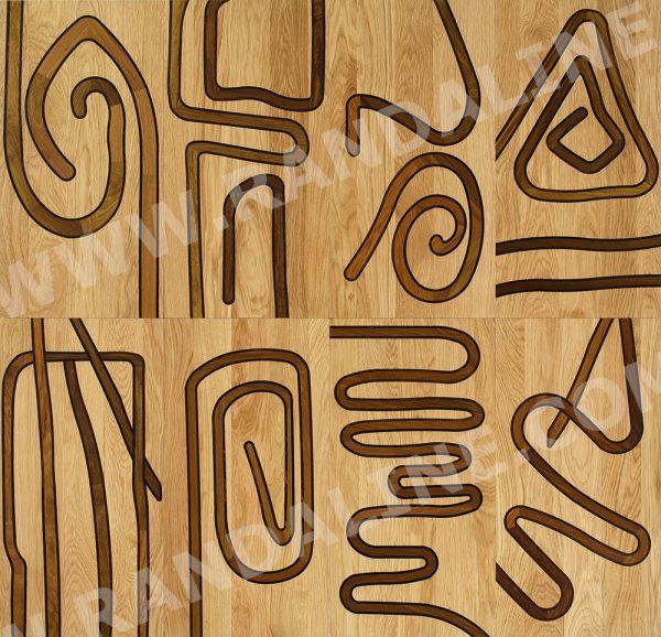 randaline decori malindi - Pavimenti in legno intarsiato Randa Line