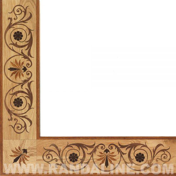 randaline greca roggia - Pavimenti in legno intarsiato Randa Line