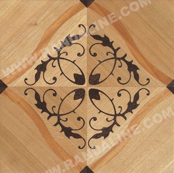 randaline quadrotta intarsiata jesolo - Pavimenti in legno intarsiato Randa Line