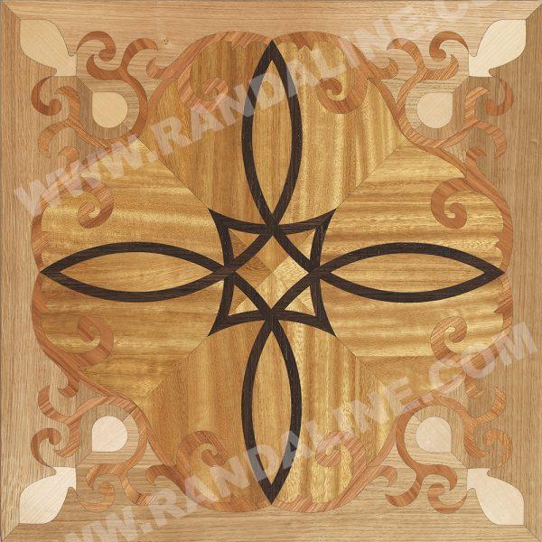 randaline quadrotta intarsiata levico - Pavimenti in legno intarsiato Randa Line