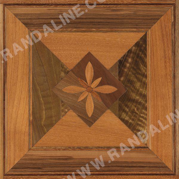 randaline quadrotta intarsiata losanna - Pavimenti in legno intarsiato Randa Line