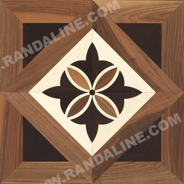 randaline quadrotta intarsiata pagorile - Pavimenti in legno intarsiato Randa Line
