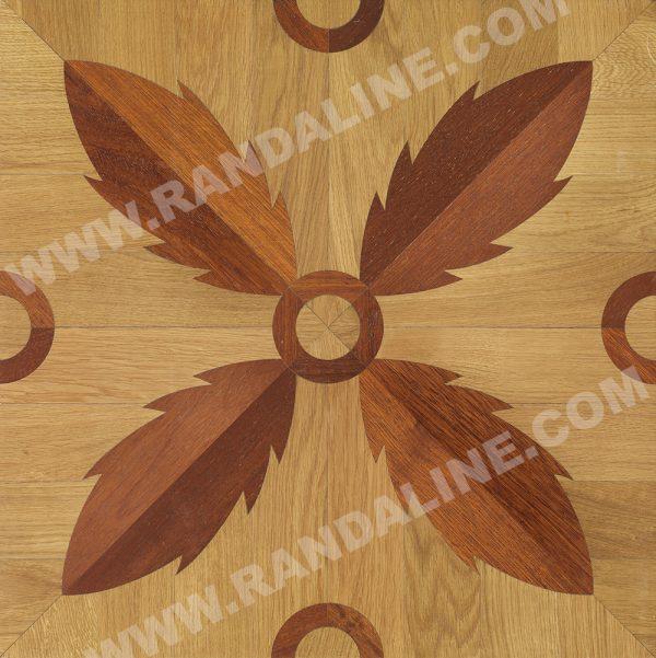randaline quadrotta intarsiata sassonegro - Pavimenti in legno intarsiato Randa Line