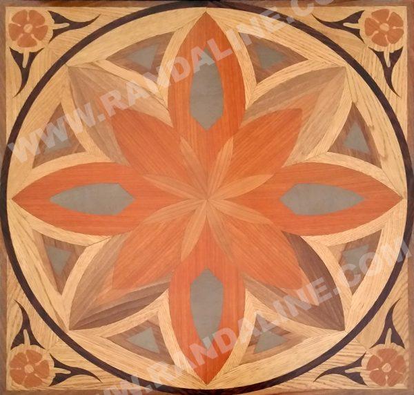 randaline quadrotta intarsiata selma - Pavimenti in legno intarsiato Randa Line