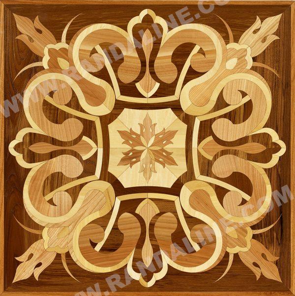 randaline quadrotta intarsiata sion - Pavimenti in legno intarsiato Randa Line