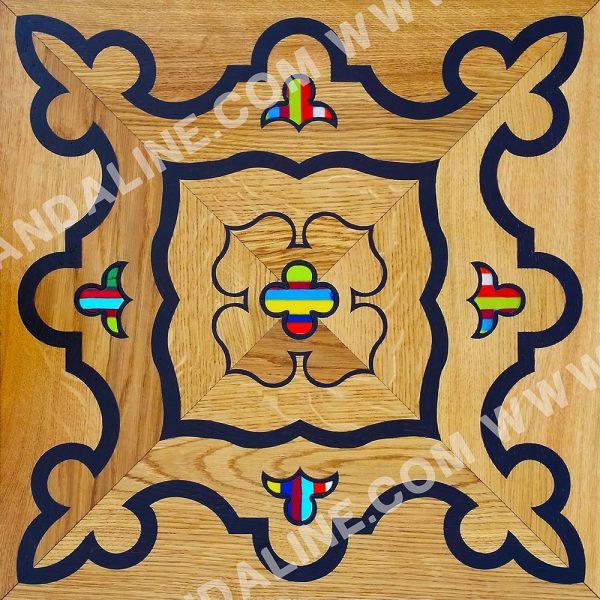 randaline quadrotta intarsiata tonezza - Pavimenti in legno intarsiato Randa Line