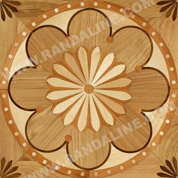 randaline quadrotta intarsiata zugo - Pavimenti in legno intarsiato Randa Line