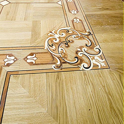 decorazioni greche per pavimenti in legno