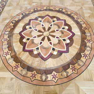 decorazioni per pavimenti in legno