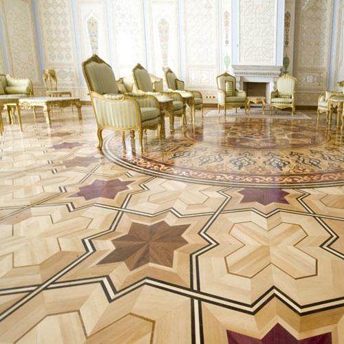 quadrotte intarsiate per pavimenti in legno