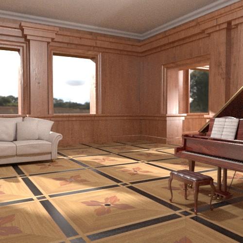randaline salone cassiopea static - Pavimenti in legno intarsiato Randa Line